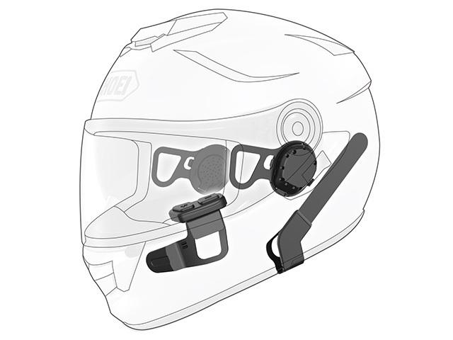 SENA 10U (完全ヘルメット内蔵型インカム): おすすめバイク用インカム通販